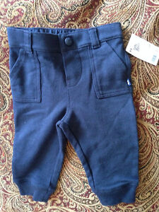 9 Month baby b'gosh joggers NWT