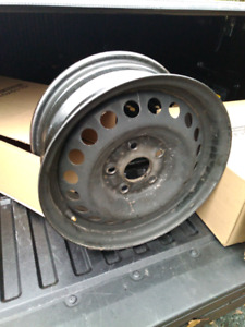 "4 x 15"" steel rims for Honda Civic"
