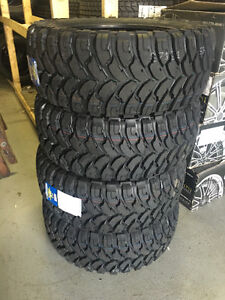 Four New 33x12.5R20 Comforser MT Tires -- CLEARANCE
