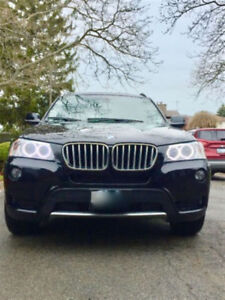 2014 BMW X3 - LOW KM'S - CUSTOM INTERIOR!!