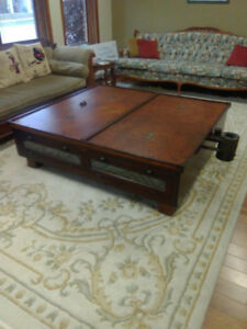 Antique Coffee Table (Refurbished)