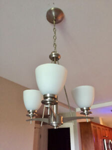 Two matching light fixtures for sale