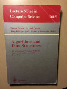 Algorithms and Data Structures - CS - 1633