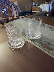 Glass Mugs Kitchener / Waterloo Kitchener Area image 1