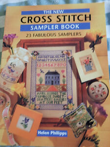 The New Cross Stitch Sampler Book by Helen Phillips