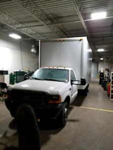 2000 F550 Superduty box truck