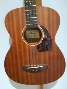 """Ibanez 32"""" scale acoustic- electric bass guitar"""
