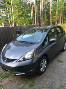 Honda Fit 2013 Grey for sale