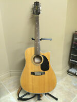 Takamine 12-string electric-acoustic guitar