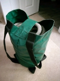 Boat rope and bag