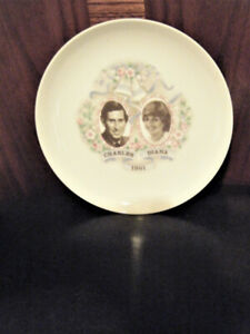 Princess Diana & Prince Charles Collector Plate