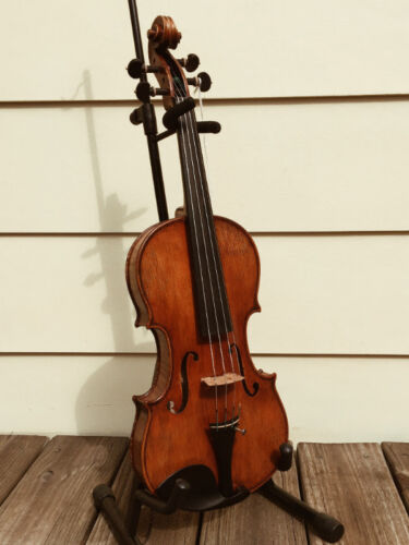VIOLIN / VIOLA DISPLAY STAND WITH BOW HOLDER --FREE SHIPPING!