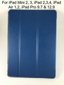 Ultra Slim Magnetic Leather Smart Cover Case For all iPads