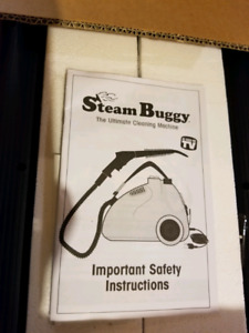 Steam Buggy (The Ultimatee Cleaning Machine)