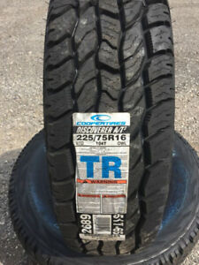 COOPER TIRES A/T3 225/65/R16 BRAND NEW ALL TERRAIN TIRES