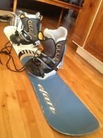 Complete snowboard kit. 150 nego