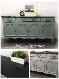 Stunning Solid Wood French Provincial Sideboard/Buffet!