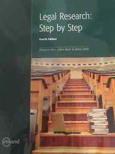 Legal Research Step by Step