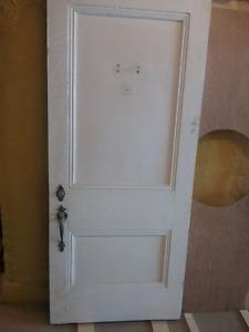Porte exterieur