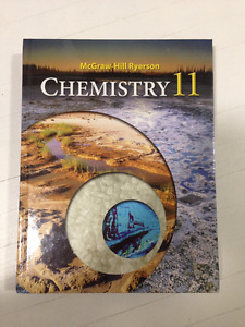 McGraw Hill Ryerson Chemistry 11 Textbook (WITH Binder of NOTES)
