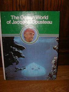 The Ocean World of Jacques Cousteau 20 volume set encyclopedia Windsor Region Ontario image 3
