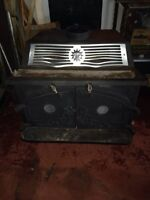 WOOD STOVE FOR CAMP OR GARAGE FOR SALE $100