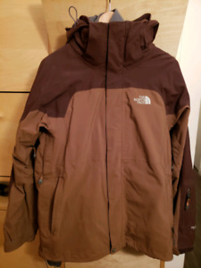 North Face Hyvent Ski Jacket and fleece liner - mens size medium