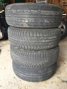 4 GOOD CONDITION  215/65 R16 WINTER TIRES