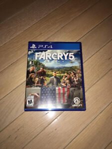 Far Cry 5 (PS4) MINT CONDITION, ALL CODES UNUSED