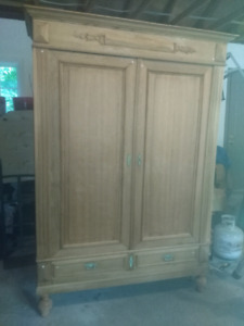Rustic french  armoire