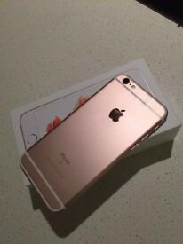 NOT WORKING: Iphone 6s - Rose Gold