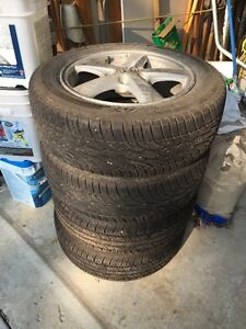 All season tires on Honda rims