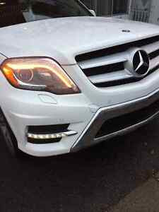 2013 MERCEDES-BENZ GLK350 4MATIC POLAR WHITE