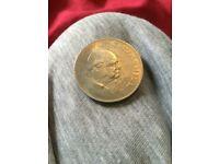 Pristine Condition Silver Winston Churchill Coin 1965 £20 ono