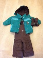 Girl's Gusti snow suit size 18 months