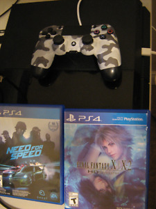 ps4/7 games and controller