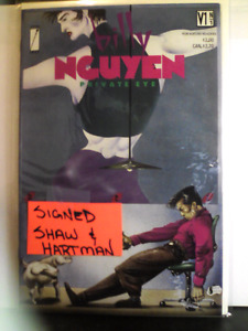 "Billy NGUYEN (Private Eye)  ""SIGNED EDITION"""