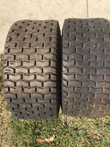 Used lawn tractor tires  $20.00 obo