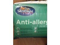 Silent night anti allergy kingsize quilt