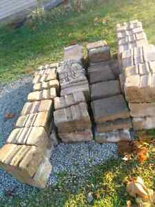 Large heavy fire pit and landscape stones/ retaining wall blocks London Ontario image 2
