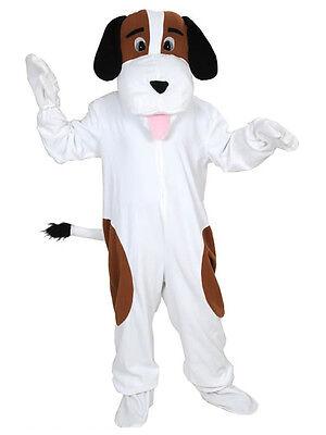 HUND BERNHARDINER KOSTÜM EINHEITSGRÖSSE XXL KARNEVALSKOSTÜM FASCHINGSKOSTÜM  (Xxl Hund Kostüme)