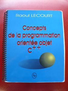 CONCEPTS DE LA PROGRAMMATION ORIENTÉE OBJET C ++