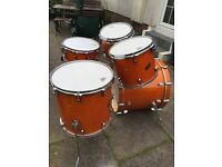 Ludwig Accent CS 5 pce, shell pack.