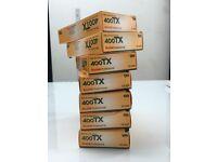 Kodak 400 TX film for sale 120mm X 5