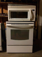 LG stove and Kenmore microwave
