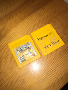 Pokemon Yellow for Gameboy Color