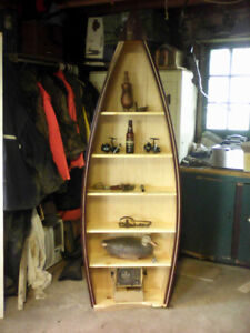 boat shelf cottage canoe shelf