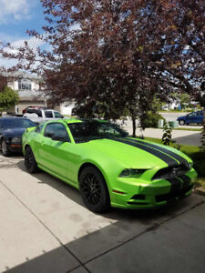 2014 Mustang Gotta Have It Green