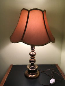 Table Lamp 2' high with separate switch for Sale!