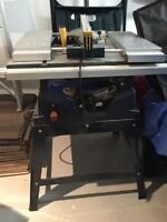 Mastercraft table saw with laser guide